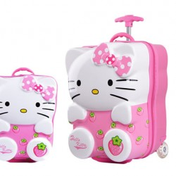 18inches Hello Kitty 3D ABS Trolley with 13inch Backpack