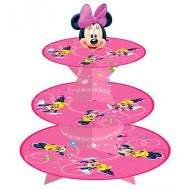 Minnie Mouse 3 Tier Cupcake Stand