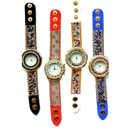 Ladies Fashion Bling Watches- assorted designs