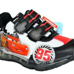 Disney toddler boys Cars Lighted Trainers- UK 5