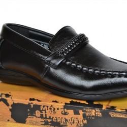 Mr Tom Boys Black Shoes (size 27, 28
