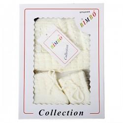 Bimbo Baby Box Gift Set ( Hat / Mitten / Bootee Set)