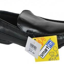 Smartfit Boys Slip On Black shoes- US size 5