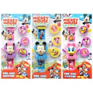 Kids 3d Emitter Watch/Game- Mickey, Minnie, Donald