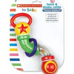 Scholastic Twist and Shake Rattle Toy