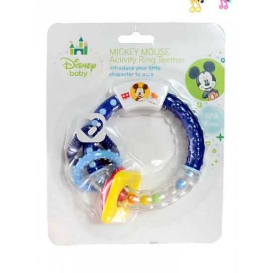 Disney Mickey/Minnie Mouse Activity Ring Teether