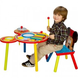Disney Mickey Mouse Musical Table and Chair Set