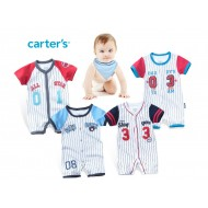Carter's Future All Star Baseball Rompers (3, 6,9,12mths)