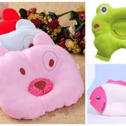 Animal Shape baby Head Support pillow- Frog, Fish, Bear