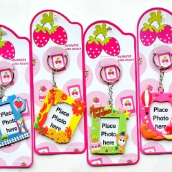 Cute Fancy Photo Keyholders- assorted