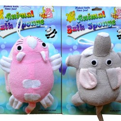 Animal Bath Sponge- assorted designs