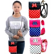 Minnie Mouse Girls Fashion leather Cross-Body Bag- assorted colours