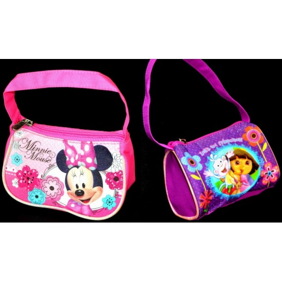 Girls Mini Hobo bags- Minnie mouse & Dora