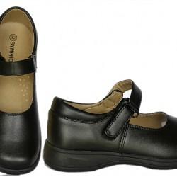 Symphony Girls School Shoes- Size 31, 32, 33, 35)