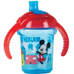 Munchkin Mickey Click Lock Trainer Cup- 6mth+