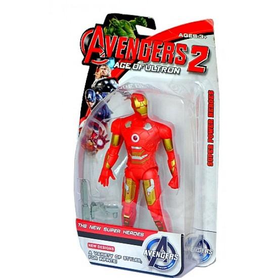 Avengers Age of Ultron Figure in Box with Light (Hulk, Thor, Iron man)