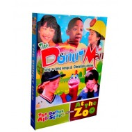 The Donut Man Sing a long Songs & Christian Stories 5 DVD Box Set- (10 Episodes)