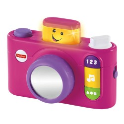 Fisher-Price Laugh & Learn® Click 'n Learn Camera - Pink