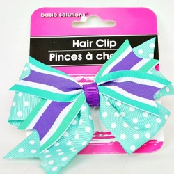 Basic Solutions Girls Bow Clip