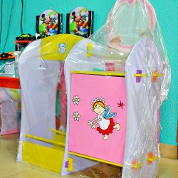 Baby Colourful Wooden Wardrobe