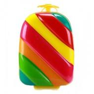 Bouncie Rainbow Soft-Shell 18inches Trolley