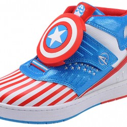 Marvel Captain America Boys fashion Hi-tops- EUR Size 25,26,33 and 36