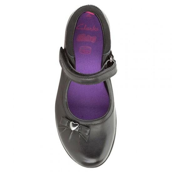 df324d8006451 Clarks Daisy Gleam Girls Leather School shoes- Uk 11, 12