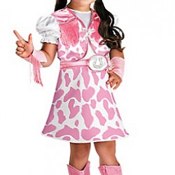 Toddler Girls Wild West Cutie Cowgirl Costume- Only Dress (2yrs)