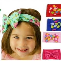 Cute Knot Bow Baby Girl Headband/wrap - assorted