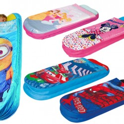 Kids Ready Bed Sleeping Bags- Assorted designs- Minions, Frozen, Spiderman, ETC