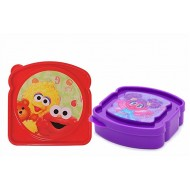 3D Cute Sesame Street Sandwich Container- 4 colours