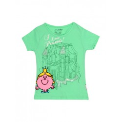 Kids Ville Mr. Men Little Miss Girls Sequin Printed Tee (2-5yrs)