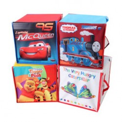 Character Room Storage Box- assorted designs- 22cm