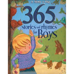 A Story A Day : 365 Stories And Rhymes For Boys Hardback Book