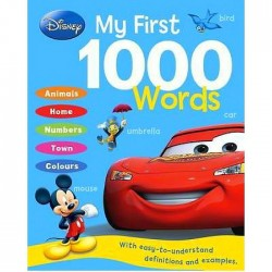 Disney My First 1000 Words Hardback Book