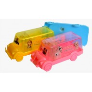 Cartoon Car-shaped Tidy Sharpeners- Frozen, Kitty