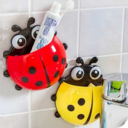 Creative Ladybug Toothbrush Holder with Suction cup- 4 colours