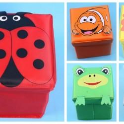 Animal Cartoon Storage Box/Stool