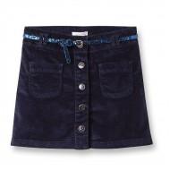 Okaidi Girls Cord Skirt & Belt Set(5yrs)