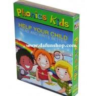 Phonics Kids 4DVD Box