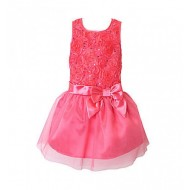 Pinky Girls Soutache Party Dress (6yrs)
