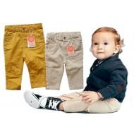 Koton Baby Boys Twill Pants (Tan/Mustard)- 3mths- 2yrs