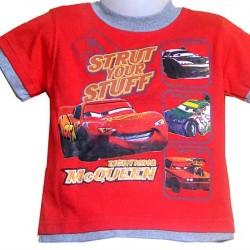 Disney Cars Toddler Boys Tees- 12mths