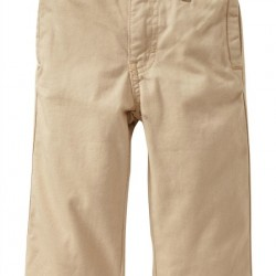 Old Navy Twill Tan Toddler Chinos- 12-18mths