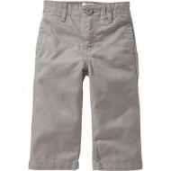 Old Navy Boys Grey Twill Toddler Chinos- 2T