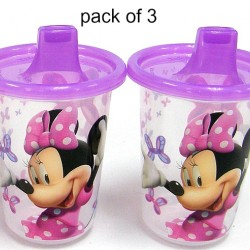 Character Reusable Sippy Cup 3-Pack (assorted designs)