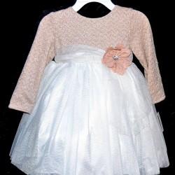 Bella by Marmellata Girls' Knit Tulle Dress (2T, 4T)