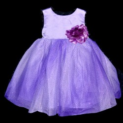 Blueberi Boulevard Lilac Tulle Party Dress (12 and 24 months)