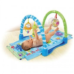 Fisher Price - Ocean Wonders Kick & Crawl Aquarium Gym