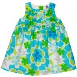 Carters Baby Girls Cotton Print Dresses-( 9-12 month)